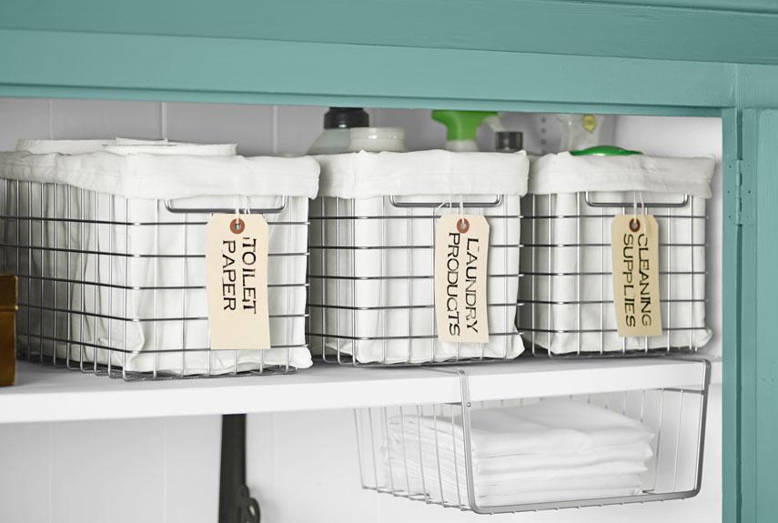 13 Ways To Get A Super Organized Linen Closet With Little