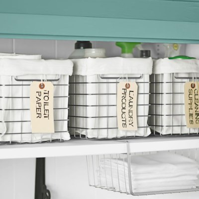 13 Ways to Get a Super Organized Linen Closet with Little Effort