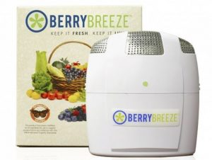 Keep your fridge smell free and make you fruit and veggies last longer with the Berry Breeze.