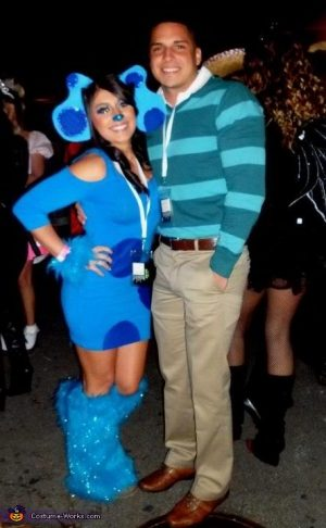Blue's Clues DIY Halloween Costume! How creative! Repin!
