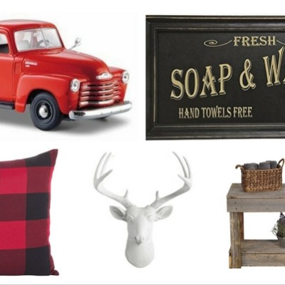 Trending in Home: Buffalo Check and Rustic Decor Must-Haves for 2017