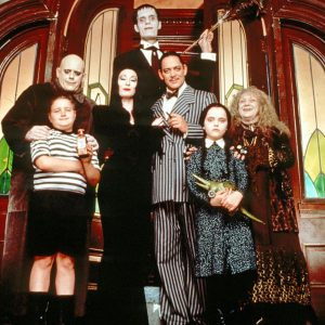 Can't wait to watch the Addams Family this Halloween!
