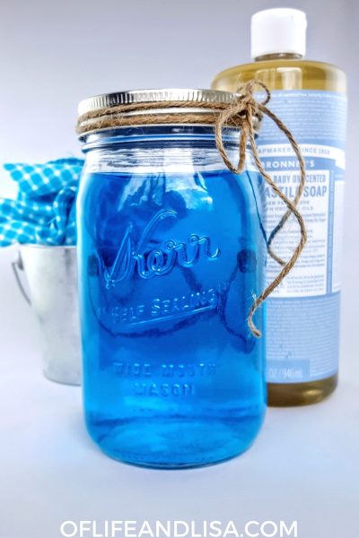 Make your own toilet bowl cleaner. It's better than those blue tablets that they sell in the store and costs way less!