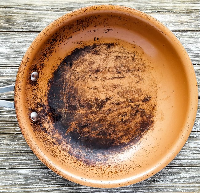How To Clean Your Burnt Ceramic Pans Naturally Of Life