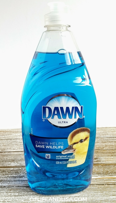 Dish soap works great to prevent mold from growing on shower curtains.