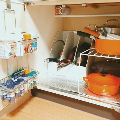 Japanese kitchen organization idea