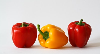Place peppers in paper bags before storing in fridge to keep them fresh for longer.