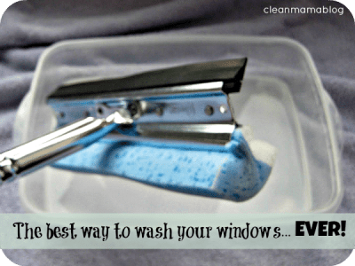 The best way to wash your windows with this simple tool!