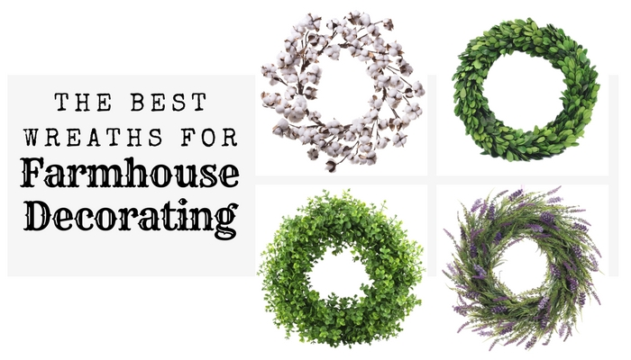 Love all of these wreaths for farmhouse decorating my home!