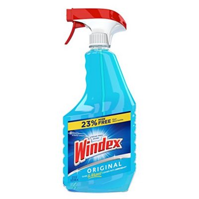 Window cleaner is a must-have for anyone moving into a new house or apartment!