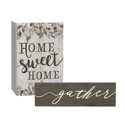 Farmhouse vignette must-haves!