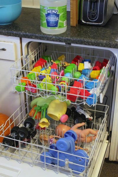 clean toys in dishwasher e1513615915801 - 10 Best House Cleaning Tips for Seniors That'll Make Life Easier