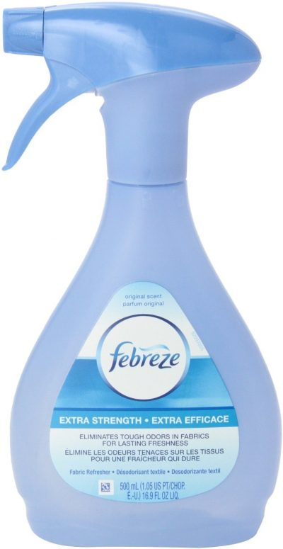 For spring cleaning, Febreze is a must-have for refreshing your home.