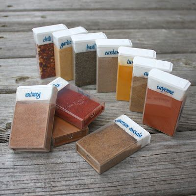 When traveling, store your favorite spices in Tic-Tac containers to bring them along with you.