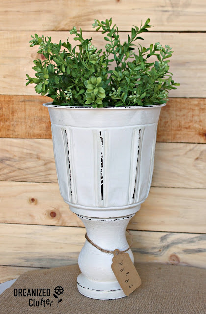 planter after - 10 Simple Thrift Store Makeover Ideas You'll Want to Steal
