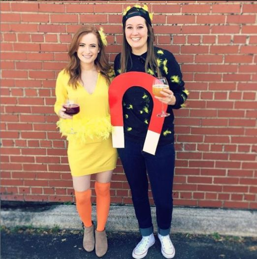 chick magnet halloween costume - 50 Best Couples Halloween Costume Ideas for 2019
