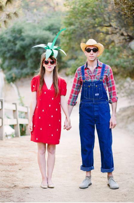 farmer halloween couple costume - 50 Best Couples Halloween Costume Ideas for 2019