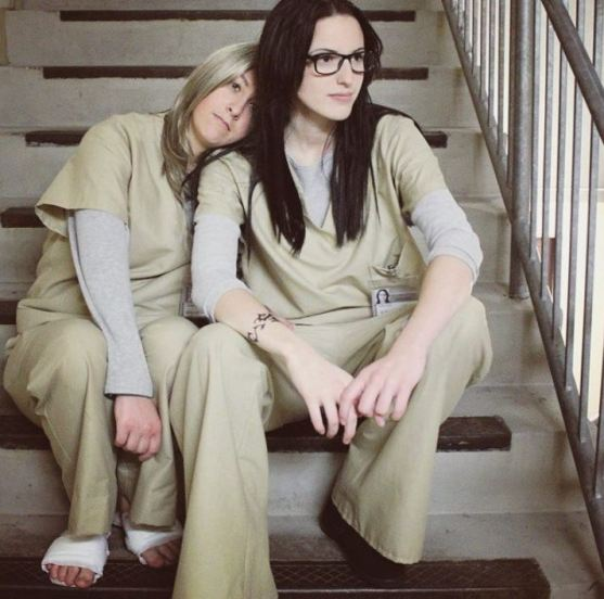 orange is the new black couples costume - 50 Best Couples Halloween Costume Ideas for 2019