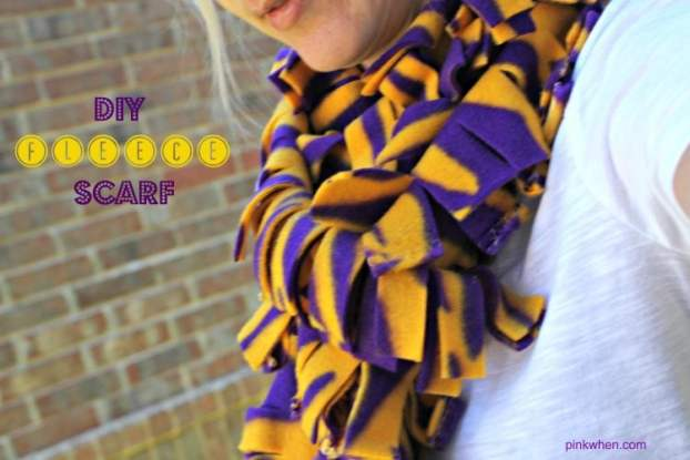 diy college football scarf - 30+ Fall Craft Ideas to Make and Sell for Extra Money