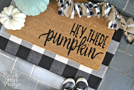 diy fall doormat - 30+ Fall Craft Ideas to Make and Sell for Extra Money