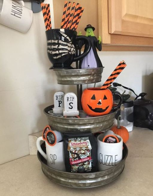 19 Fabulous Halloween Tiered Tray Decor Ideas Of Life And Lisa