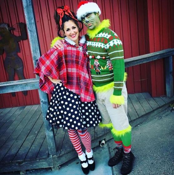 grinch cindy lou halloween costume - 50 Best Couples Halloween Costume Ideas for 2019