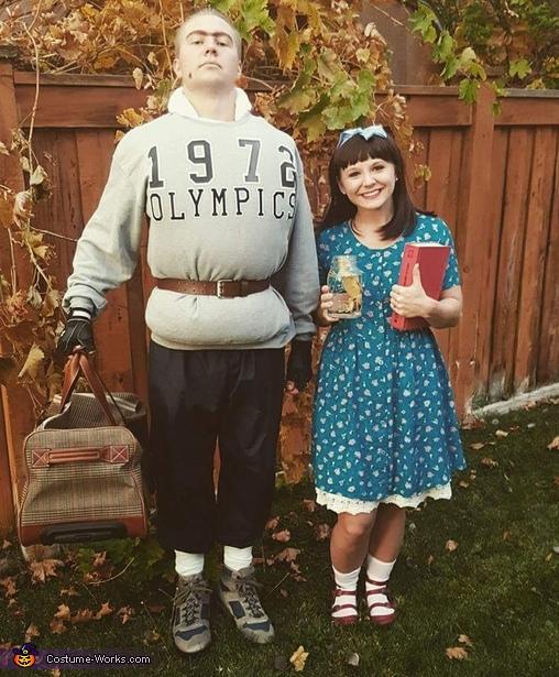 matilda costumes - 50 Best Couples Halloween Costume Ideas for 2019