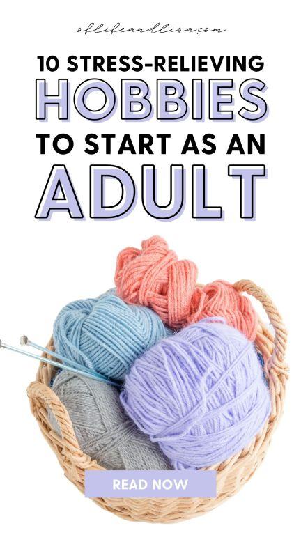 Hobiji za smanjenje stresa za odrasle