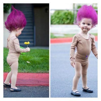 SO adorable! Halloween Costume Idea for toddler girl!