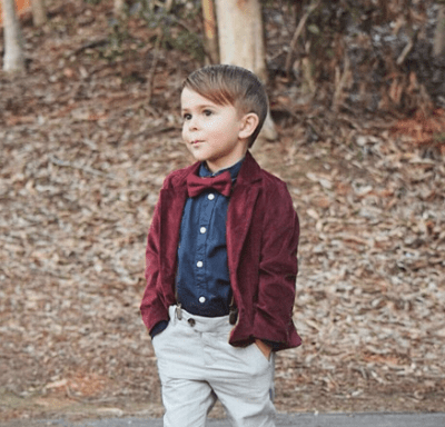 Cute and stylish hair cut for boys