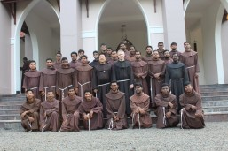 10.Stduent Friars with the Minister General and Defintior General