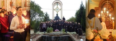 Fraternal visit to the Graeco-Byzantine Rite Foundation of All Franciscan Saints in Ukraine