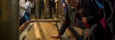 Ecumenical Ceremony for the Completion of the Restoration of the Edicule of the Holy Sepulcher