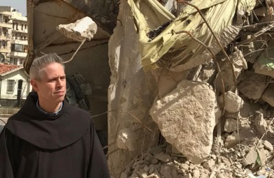"""Only in God can we be Saved"": Message of the Minister General on his visit to Aleppo"