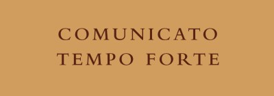 Communique from the General Definitory - Tempo Forte of January 2020