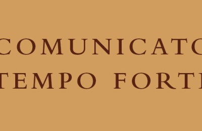 Communique from the General Definitory – Tempo Forte of January 2018