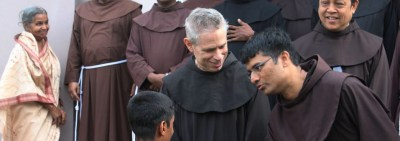 Franciscans in India welcome Minister General and Definitor General