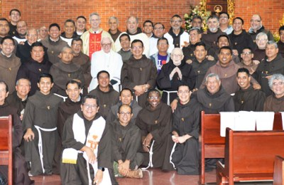 Visit of the Minister General to the Province of Our Lady of Guadalupe