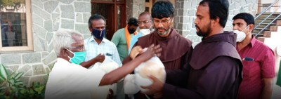"""Friars in India: """"Thank you for helping us help others"""""""