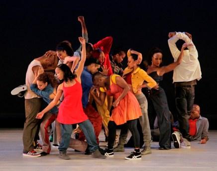 Alvin Ailey American Dance Theater in Rennie Harris' Home. Photo by Paul Kolnik