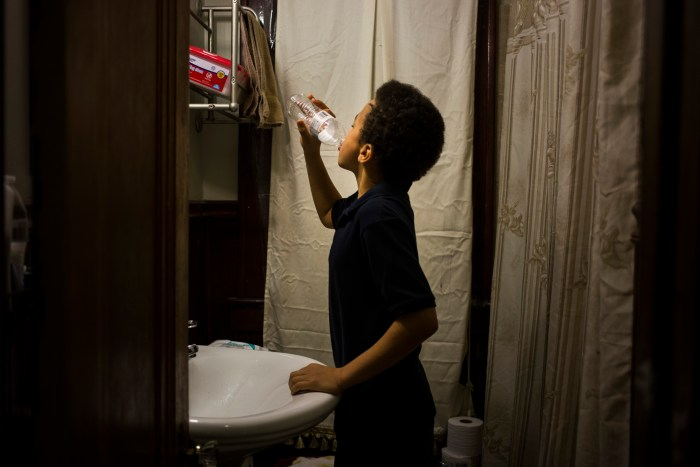 Flint, Michigan - January 20, 2016: (Brittany Greeson/The New York Times)