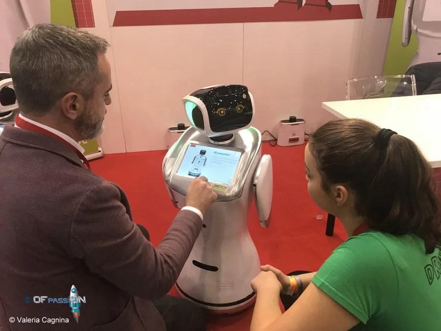 fiera maker a roma valeria cagnina francesco baldassarre robot