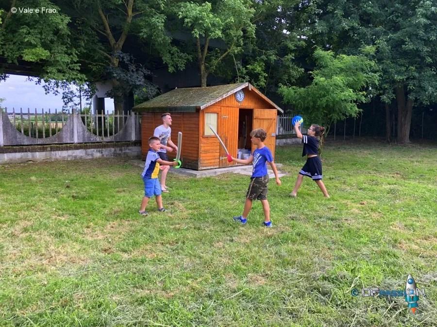 giochia ll'aria aperta ofpassion summer camp