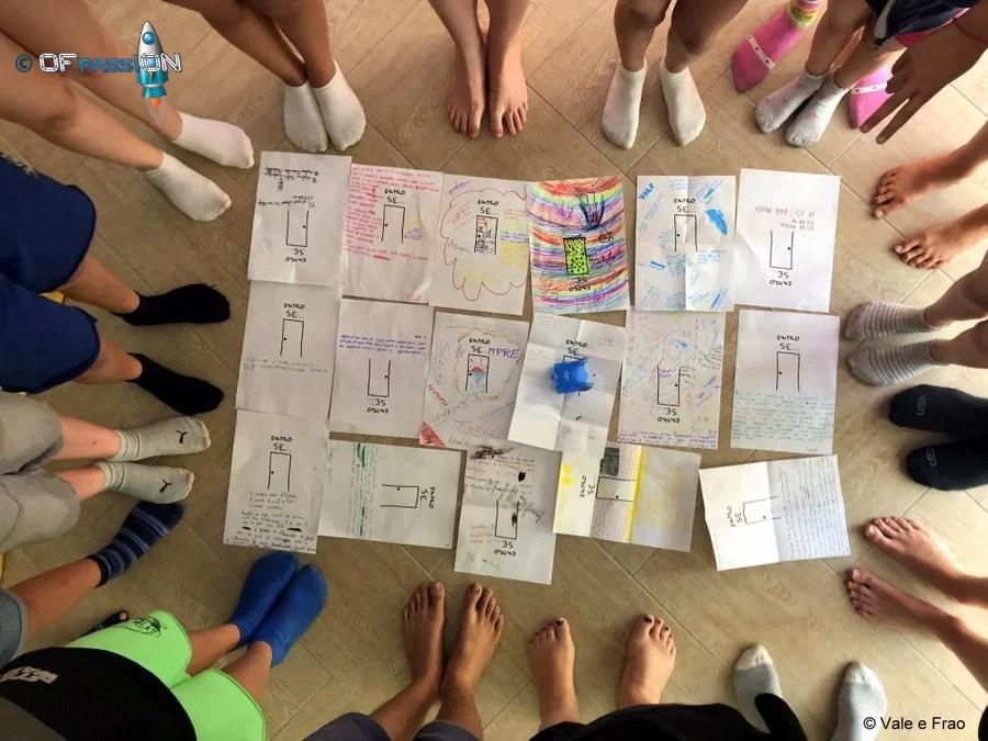 bambini ragazzi mettersi in gioco summer camp robotica estate tech e non solo