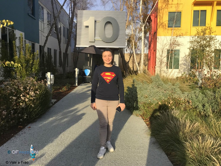 valeria cagnina francesco baldassarre silicon valley california visita facebook