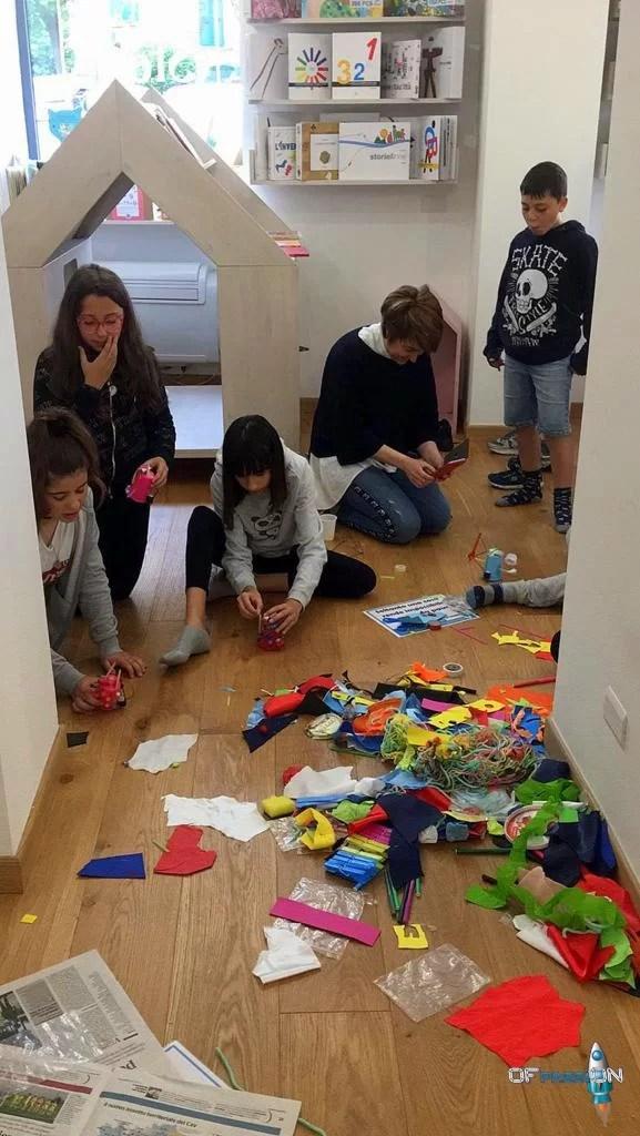 Decorazioni per far uscire la creatività dei dreamers robotica educativa ofpassion