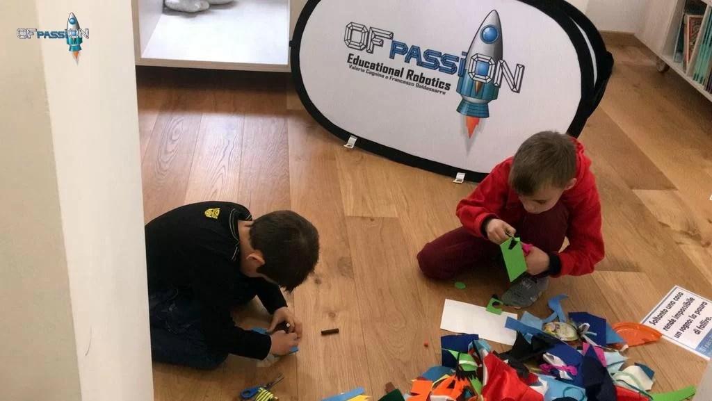 Decorazioni laboratorio robotica educativa ofpassion Libreria Start Varazze