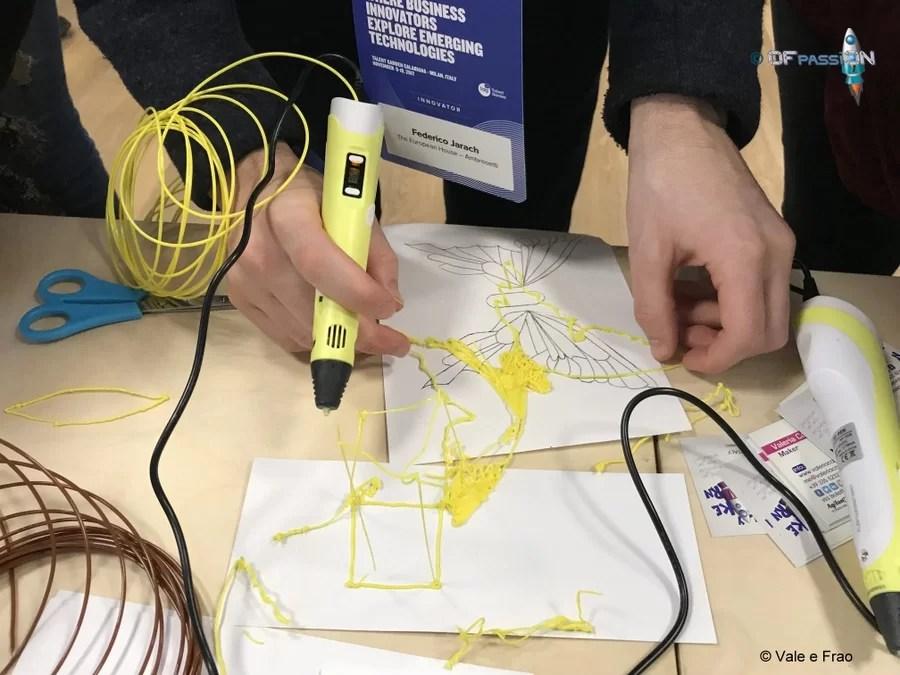 laboratorio Futureland Milano ofpassion penna 3d