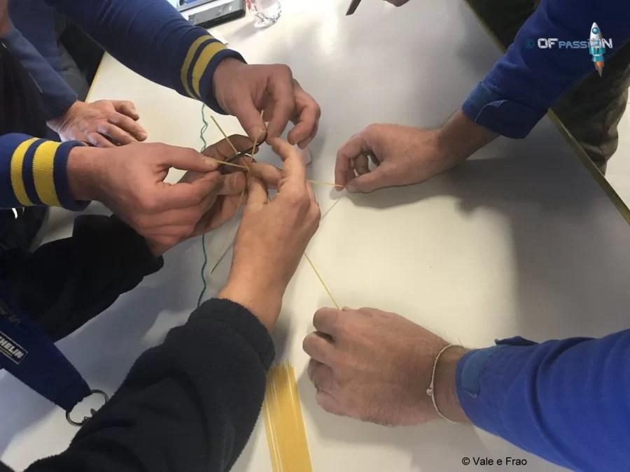 marshmallows challenge dipendenti michelin team building e formazione ofpassion