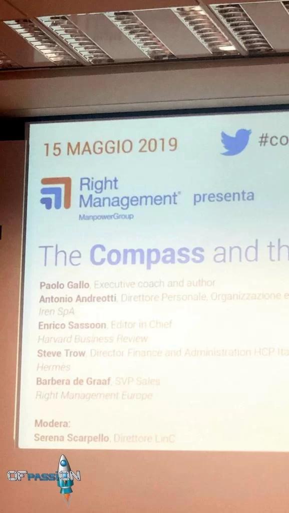 partecipanti importanti alla presentazione del libro di Paolo Gallo a Milano alla Manpower con OFpassiON